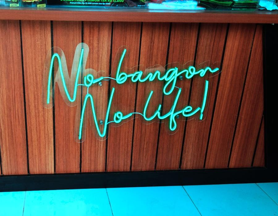 √ Custom Neon Flex Bogor untuk Cafe, Coffee Shop, Resto