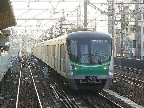 【ダイヤ改正で消滅逃れる!】各駅停車 霞ヶ関行き メトロ16000系