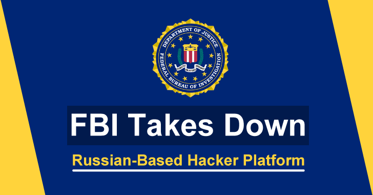 "FBI Takes Down a Russian-based Hackers Platform ""DEER.IO"" Where The Admin Sold Hacked Data"