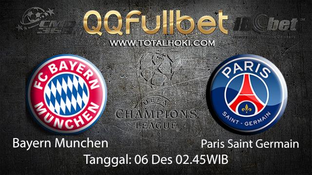 PREDIKSIBOLA - PREDIKSI TARUHAN BOLA BAYERN MUNCHEN VS PARIS SAINT GERMAIN 6 DESEMBER 2017 ( UEFA CHAMPIONS LEAGUE )