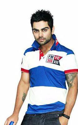 Virat Kohli Hair Style Images 2013 14 All Cricket Stars