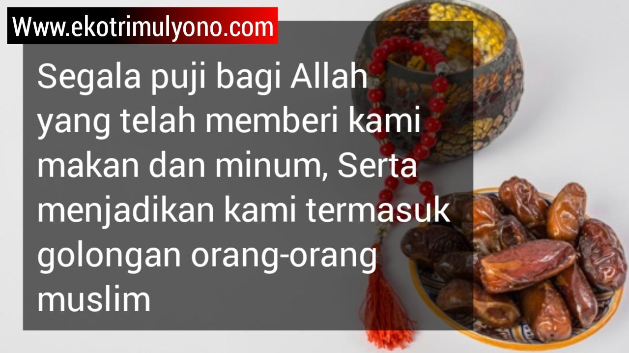 Doa makan