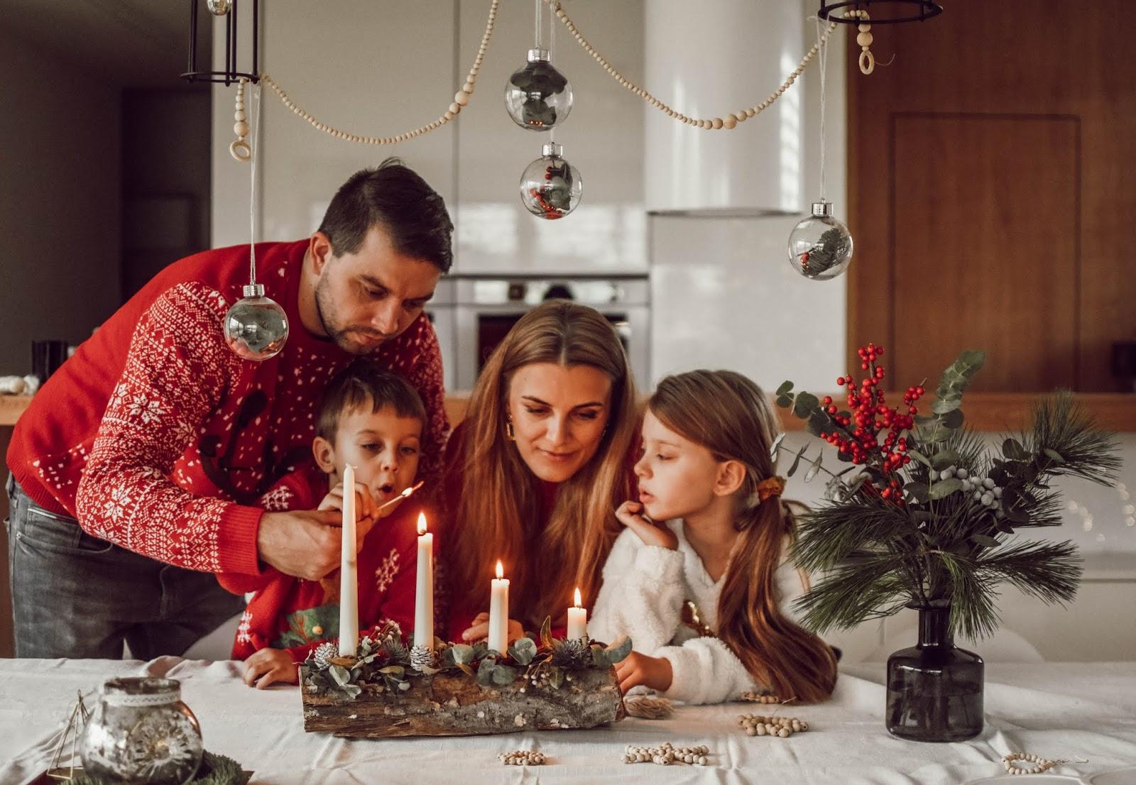 Inspirace // Vánoční čas u nás doma
