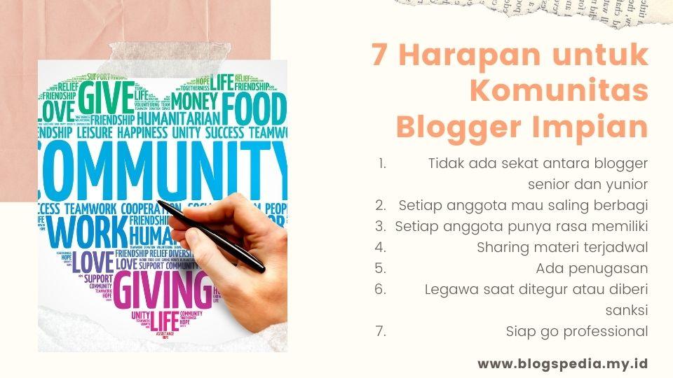 harapan untuk Squad Blogger ODOP