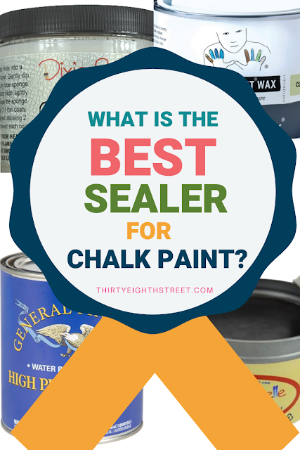 pictures of chalk paint sealers