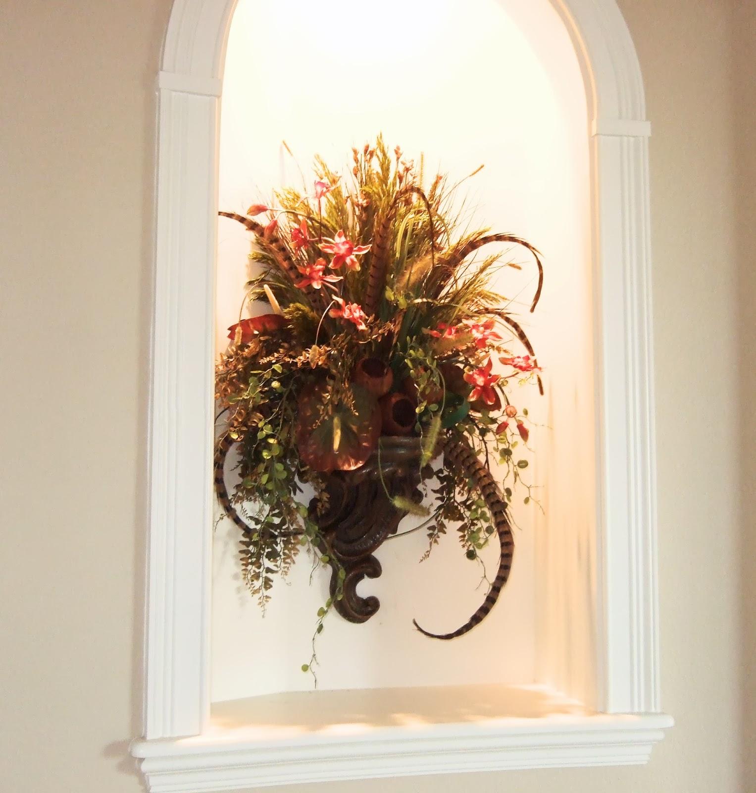 AnaSilkFlowers: Ideas!!!... Elegant Traditional Decorating