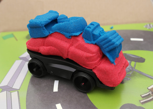Kinetic Sand Crash 'Em Cars - Blog  Review