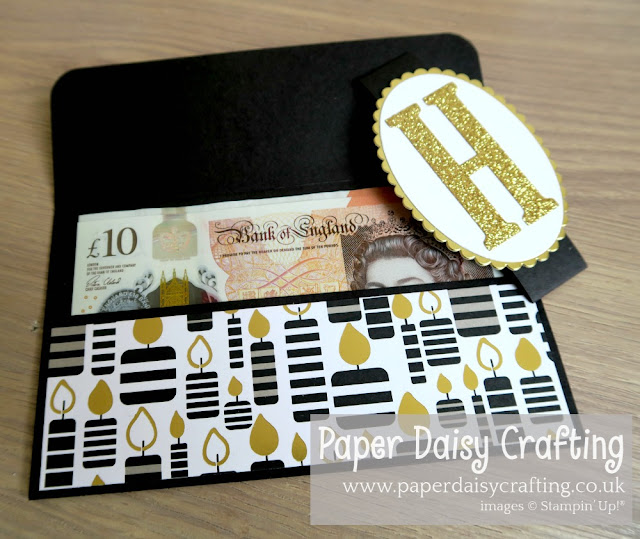 Broadway Bound Gift Card Voucher Money wallet Stampin Up