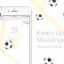 طريقة اظهار لعبة كرة القدم على تطبيق ماسنجر بسهولة