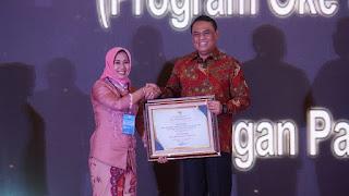 Walikota Mojokerto Terima Penghargaan Top 99 Inovasi Pelayanan Publik