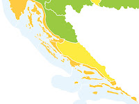 Toplinski val, narančasti stupanj pripravnosti slike otok Brač Online