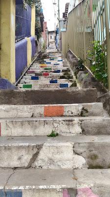 escada subida Valparaíso