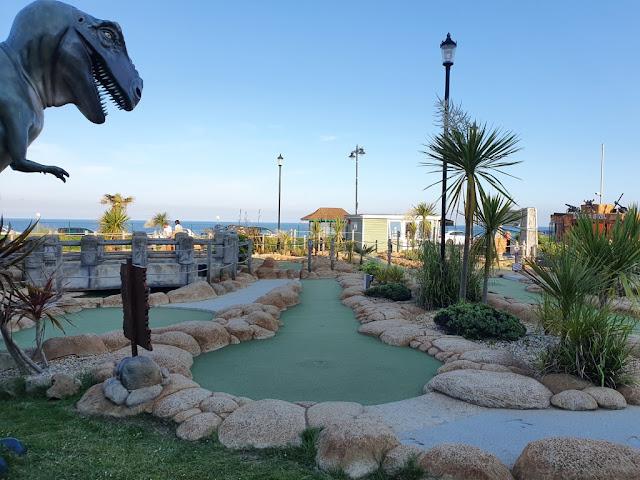 Jurassic Bay Adventure Golf at Shanklin Seafront