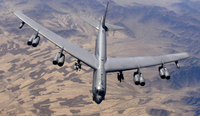 America will deploy six bomber aircraft in Indian Ocean