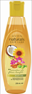 AVON LAUNCHES NATURALS HAIR OIL