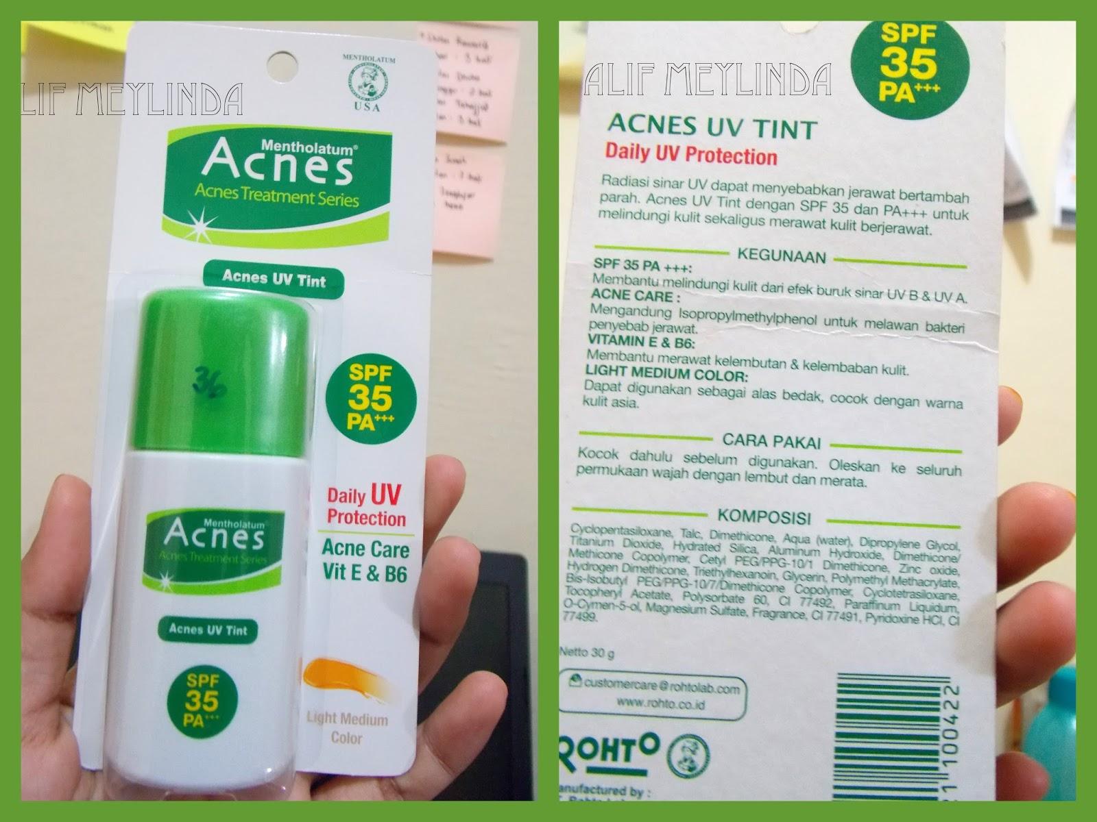 image acnes UV
