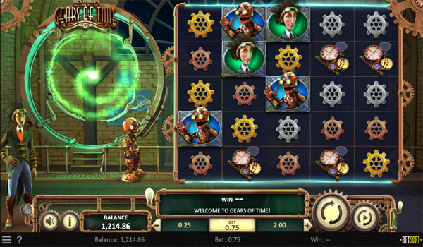 Main Gratis Slot Indonesia - Gears of Time Betsoft