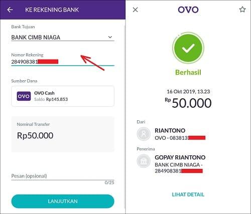 Gopay Gojek: Cara Transfer Saldo OVO Ke GOPAY Dengan Mudah