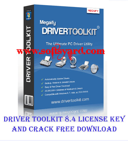 Driver Toolkit 8.4 working license key and crack free download