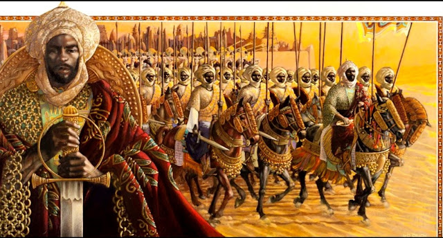 El histórico sultán Mansa Musa I, emperador de Mali