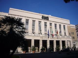 Rome's Teatro dell'Opera, rebuilt in the 1920s by the architect Marcello Piacentini, seats 1600 spectators