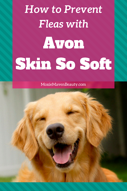 Avon Skin So Soft for Dogs. How to keep fleas away. MoxieMavenBeauty.com