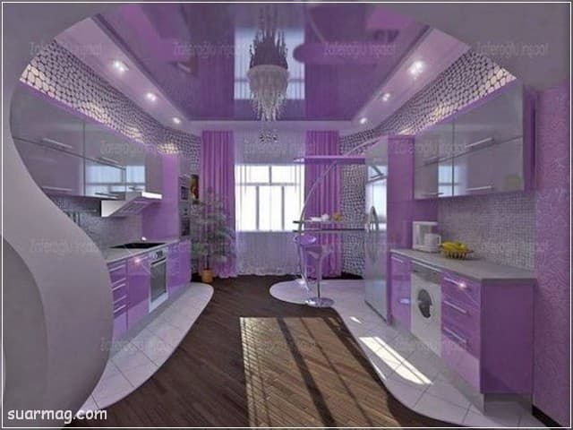 جبس بورد مطابخ 12   Kitchen Gypsum Designs 12