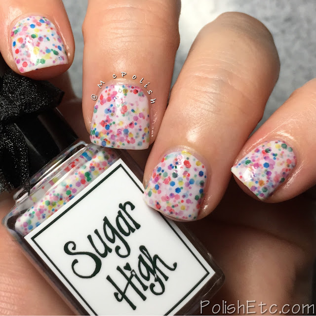 Whimsical Ideas by Pam - Hallowhimsy 2017 - McPolish - Sugar High