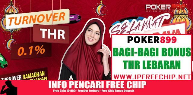 Promo Bagi Bonus THR Lebaran - POKER899