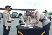 Polres Serang Laksanakan Upacara Sertijab Sejumlah PJU dan Kapolsek