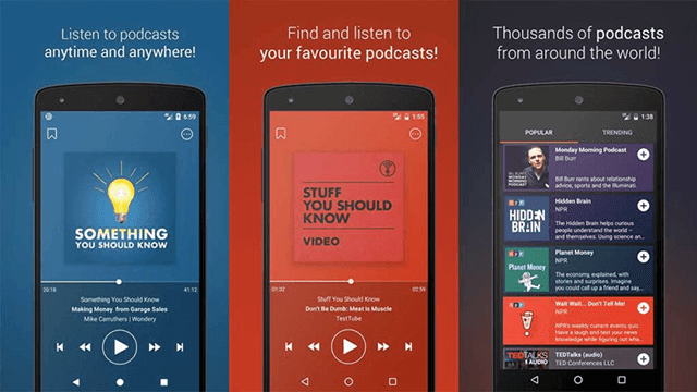 Aplikasi Podcast Go