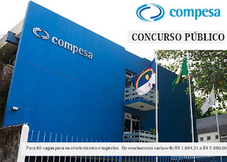Apostila Compesa 2016 - Assistente de Saneamento e Gestão - Compesa/PE.