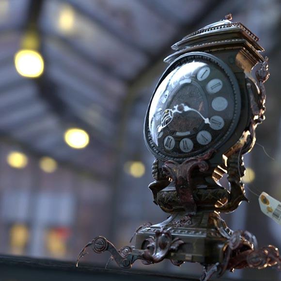 Clock Wallpaper Engine