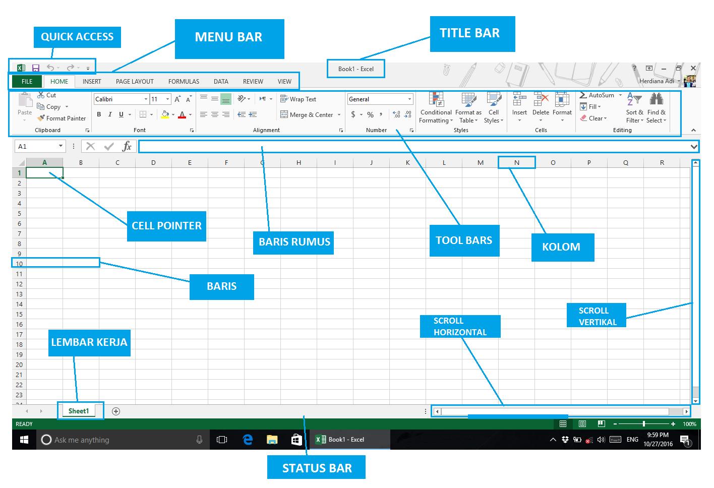 Pengenalan Microsoft Excel Adi Herdiana