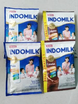 Indomilk Susu Bubuk Instant Cokelat