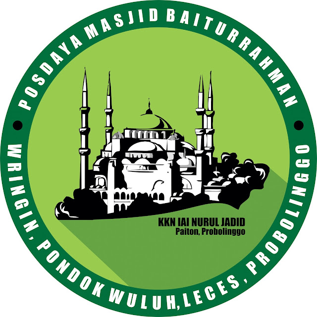 Logo Posdaya Masjid Baiturrahman, KKN IAI Nurul Jadid