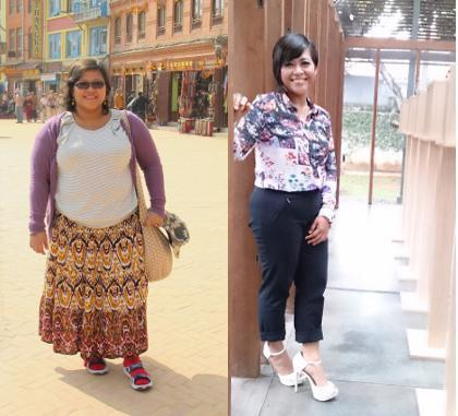 Perubahan Drastis Wanita Berbobot 157 Kg yang Turun Jadi 67 Kg
