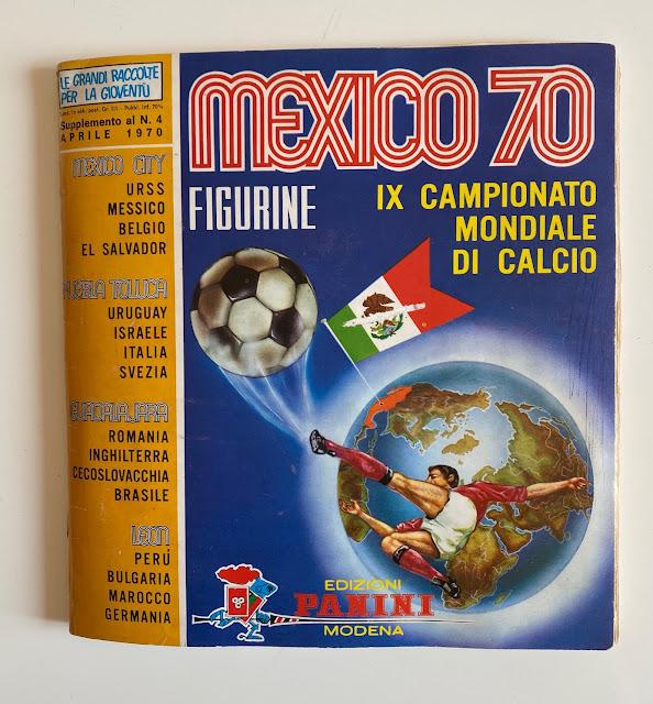 Album Panini Messico '70