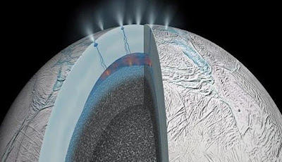 Enceladus Bisa Mendukung Kehidupan Asing, Ungkap NASA