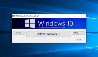 W10 Digital Activation - Kích hoạt Windows 10 vĩnh viễn với giấy phép kỹ thuật số