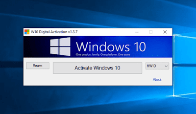 Activate Windows 10 permanently with a digital license