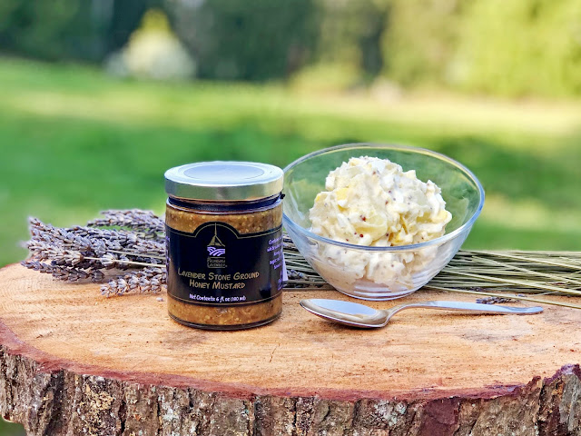 Lavender Stone Ground Honey Mustard - Lavender Potato Salad Recipe