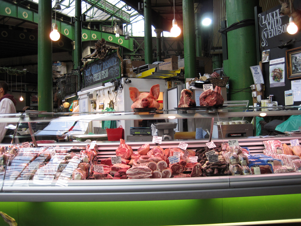 Borough Market Butchers Counter