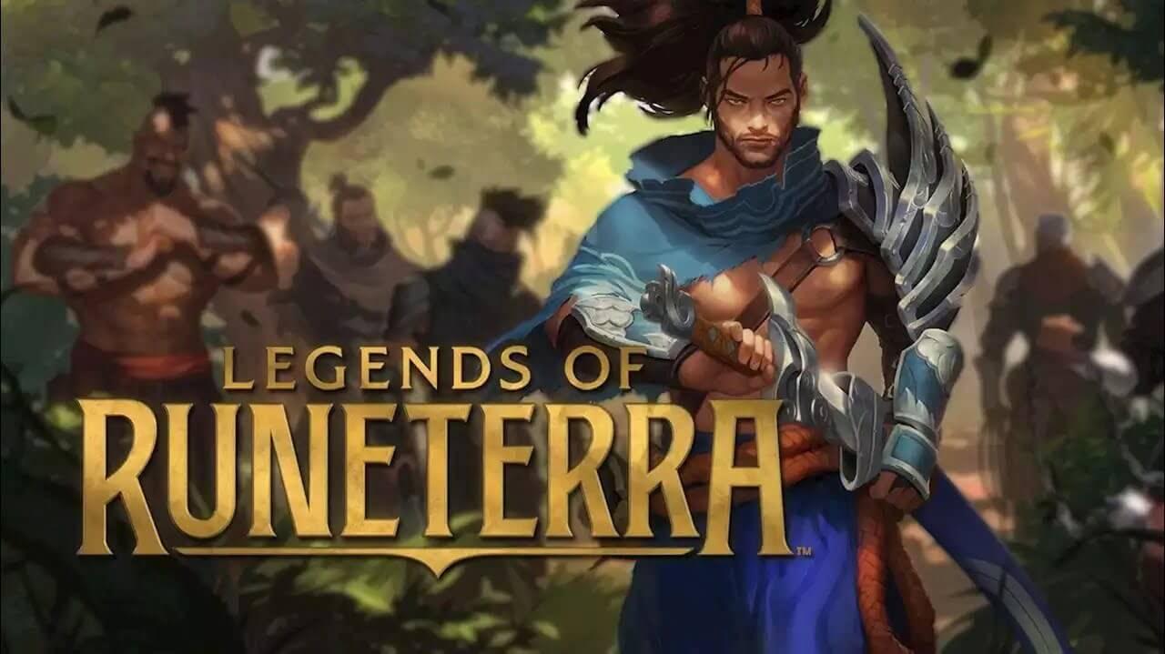 أساطير رونيتيرا ظهرت لعبة بطاقة من Riot Games تسمى Legends of Runeterra