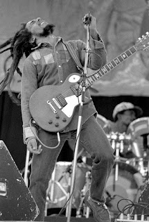 Bob Marley by Eddie Mallin
