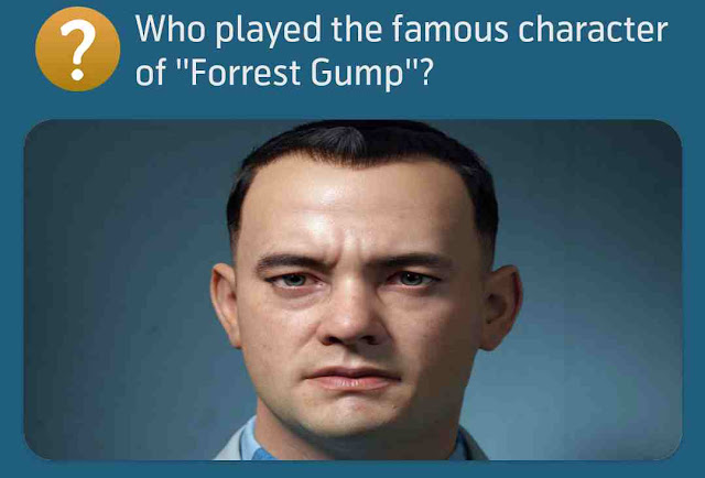 Who played the famous character of ''Forrest Gump''?