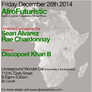 Friday 12/26: AfroFuturistic @ Underground Wonder Bar