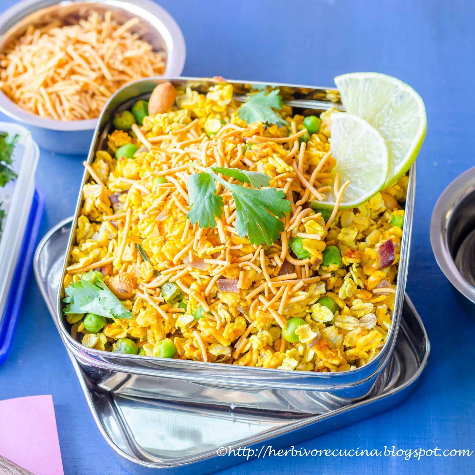 Herbivore cucina indian style oats poha indian style oats poha forumfinder Images