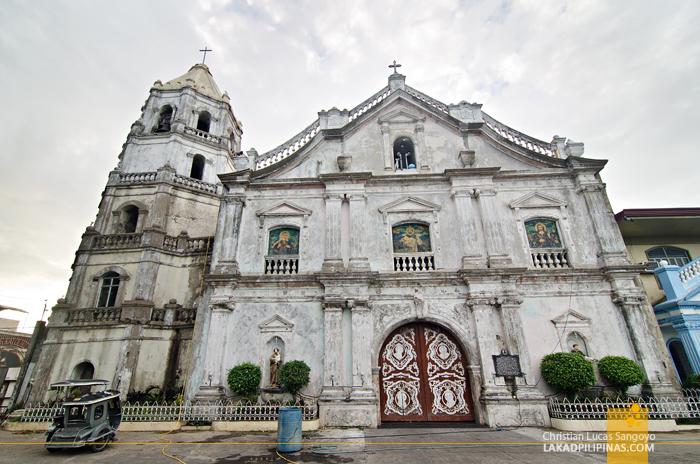 St. Dominic Church Abucay Bataan Facade