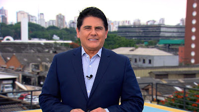 O apresentador Cesar Filho. Crédito: Divulgação/ Record TV